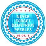 Demetrius M. Peebles